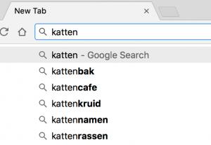 Zoekwoorden vinden via Google Suggest