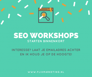 SEO workshop online